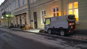 Gatusopningen i Åbo 2014 inleddes i februari