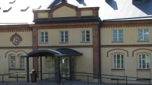 Kuntsis museum för modern konst i inre hamnen i Vasa