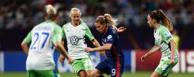 Wolfsburg och Lyon möttes i Champions League-finalen 2018. 5df6e762560ee