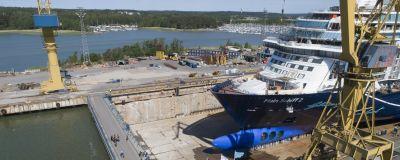 Samma fartyg krockade igen i finska viken