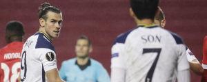 Gareth Bale fick starta, medan Son Heung-min blev inbytt under Europa League-matchen.