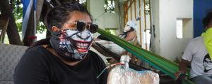 Våldsamheterna i Nicaragua.
