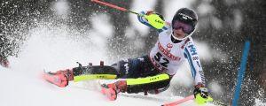 Erika Pykäläinen vid alpina VM i Åre.