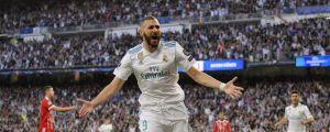 Karim Benzema gjorde mål.