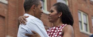 Barack Obama och Michelle Obama.