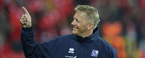 Heimir Hallgrimson tränar det isländska landslaget i fotboll.