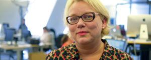 Hufvudstadsbladets chefredaktör Susanna Ilmoni