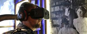 Virtuell verklighet på Helsingfors stadsmuseum.