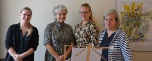 Lisa Taulio, Raija Hautaviita-von Weymarn, Anna Rainio och Maria Simberg-Sörensen.