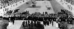 Invigningen av OS i Aten 1906.