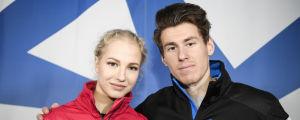 Juulia Turkkila och Matthias Versluis tävlar i isdans.