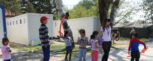 Flyktingläger i norra Serbien