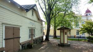 Spruthuset vid Rådhustorget i Ekenäs