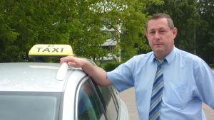 Taxichaufför Mats Welander