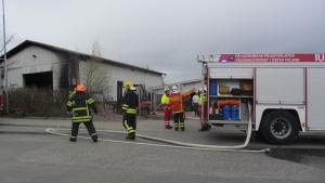 Brand i Nickby