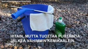 Vesi+astianpesuaine+lasta