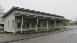 Matkahuoltos barack i Ekenäs