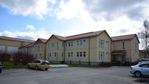 Den här flygeln ska byggas om och inhysa Vörå samgymnasium från hösten 2015