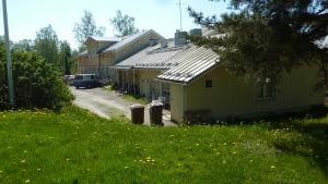 Äldre delen av servicehemmet Lönneberga.