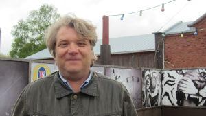Robin Sundberg är ny verksamhetsledare för Hangö teaterträff