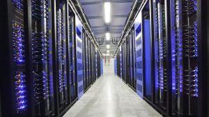 Facebooks serverhall i Luleå, Sverige