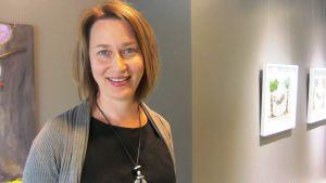 Susann Hartmann, chef för kulturtjänster i Borgå