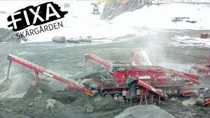 Bergsbrytning i Ingå