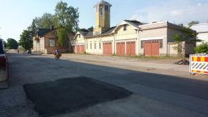 Gamla brandstationen i Hangö