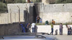 Lågstadieskola i Hebron attackeras än en gång av tårgas från israeliska soldater