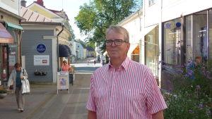 Jan Lindholm är ordförande för Ekenäsnejdens företagare