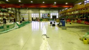 Scandi Nets produktionshall i Nykarleby