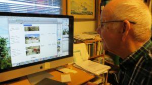 Sjöfartshistoriker Thure Malmbergs sjöfartsarkiv skickas till Sjöhistoriska Institutet vid Åbo Akademi