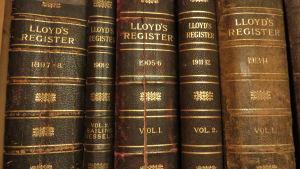 Thure Malmbergs samling av Lloyd's sjöfartsregister