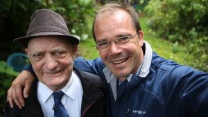 Nicke Lignell toteutti Veikon, 86, unelman tavata pikkusiskonsa Ainon ensi kertaa vuoden 1944 jälkeen.