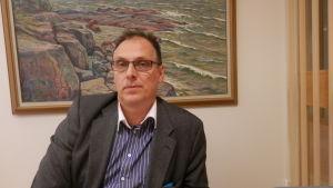 Bildningsdirektör Jan Levander i Jakobstad
