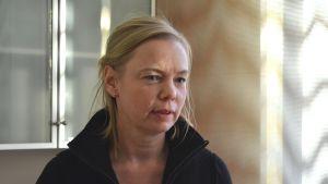 Annika Weckman, en av de nya företagarna på Pellinge kursgård.