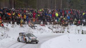 Svenska VM-rallyt, Jari-Matti Latvala, 2014.