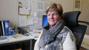 Kosthållschef Lisa Kentala i Jakobstad