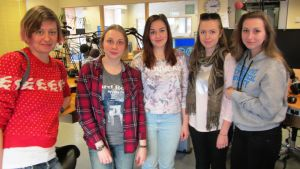 Elever från S:t Petersburgs Polytekniska Universitet och deras lärare besöker Borgå Folkakademi
