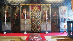 Lovisa ortodoxa kyrkas ikonostas