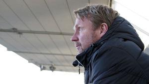 Peter Haglund är manager för EIF fotboll