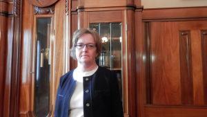 Anne Ekstrand, t.f. stadsdirektör i Jakobstad