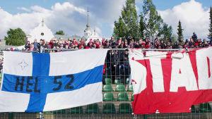HIFKS supportrar i Lahtis