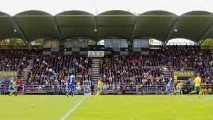 Ilves-HJK var slutsåld. 5050 personer på plats