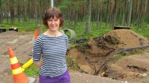 Vessönets sekreterare Pamela Westerlund