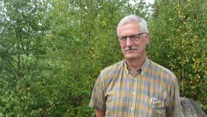 Henrik Rehn är ordförande för Tenala jaktvårdsförening
