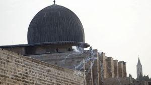 Aqsamoskén på Tempelberget i Jerusalem.