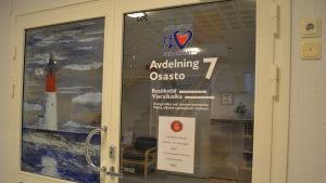 Avdelning 7 vid Malmska sjukhuset