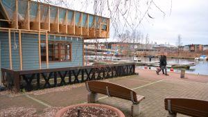 kisok/cafébygge på östra åstranden i borgå 04.11.15