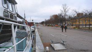 hamnkajen vid ågatan i borgå